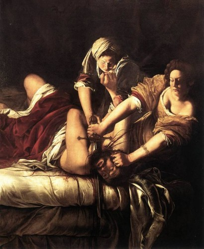 Tuscan Traveler's Favorite Painting by Artemisia Gentileschi (Uffizi)