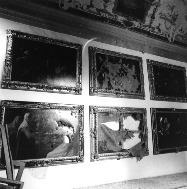 Paintings from the Renaissance destroyed in 1993