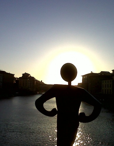 Into the Sunset with Common Man (photo by Francesca Boni