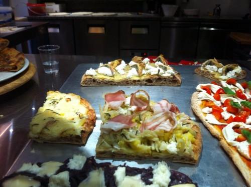 Seasonal ingredients make the freshest most interesting pizza