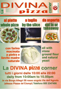 All the info for the best pizza in Florence