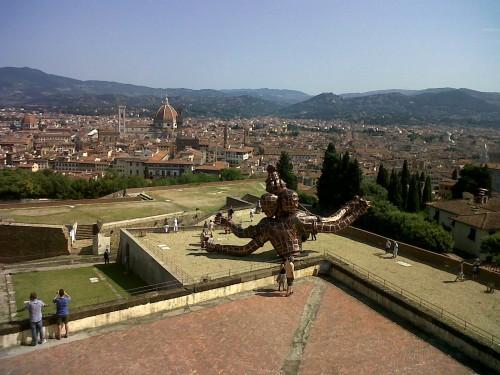 View from Forte Belvedere (foto F. Boni)