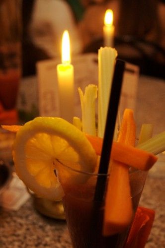 Fruit and Veggie Garnishes are the specialty of Art Bar Cocktails  (olliefordcamera.tumblr.com)