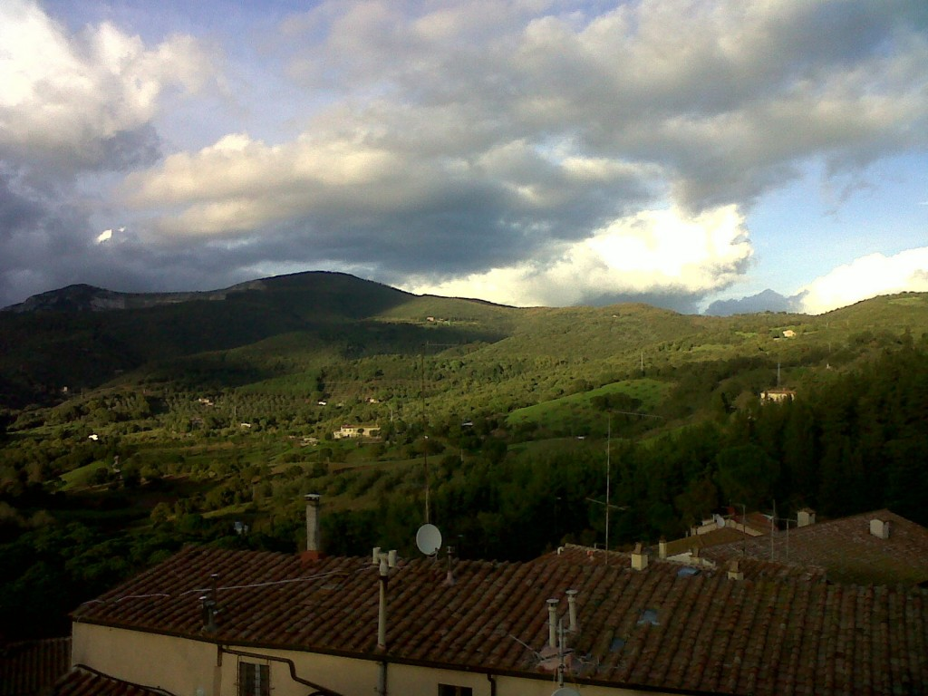 Foto from Francesca Boni's BlackBerry