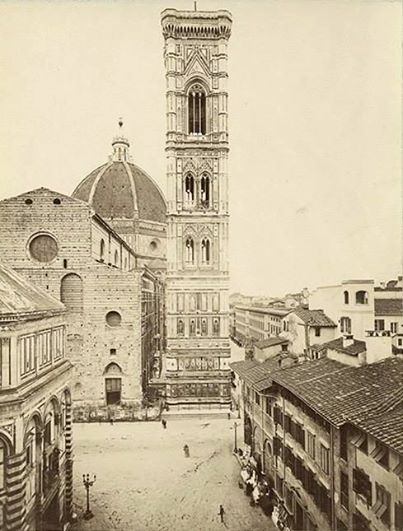 Florence Duomo in 1850