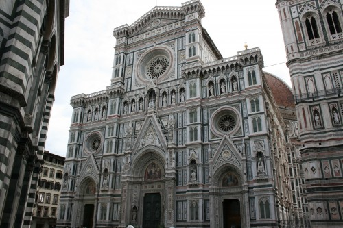 Florence Duomo Façade - 400 years in the making