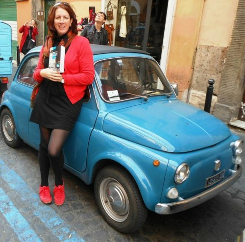 Estelle would have loved to drive this Fiat 500, but it wasn't hers