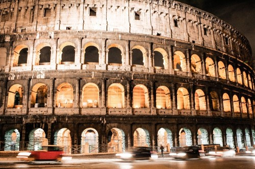 Rome at Night     (Photo by Hugo Costa)