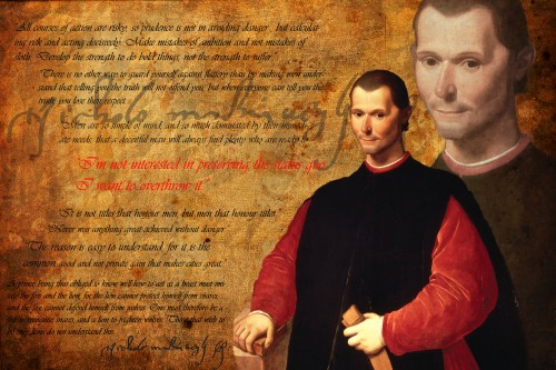 The Prince by Machiavelli was published 25 years before Galeteo