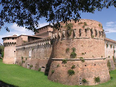 The fortress of Ravaldino that Caterina Sforza defended