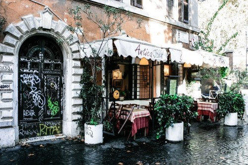 Roman Neighborhood of Trastevere  (Photo by Hugo Costa)