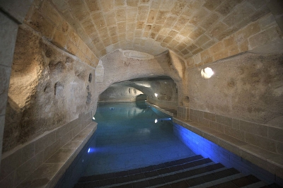 The Underground Spa at the Locanda San Martino