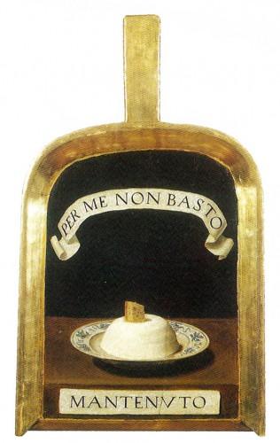 A pale (shovel) of L'Accademia della Crusca