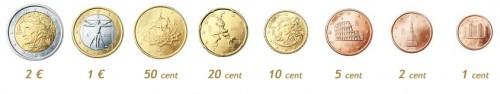 Italian Euro Coins