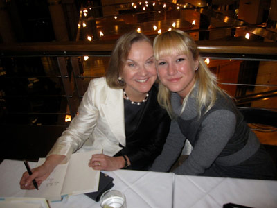 Dianne and Julia Hales