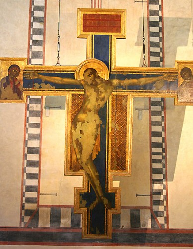 The Cimabue Crucifix in 2014