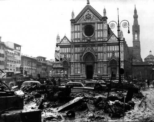 Santa Croce in the days following the flood