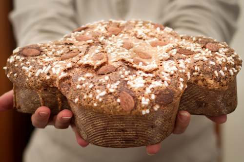 The finished Colomba  (photo by Flickr Nicola)