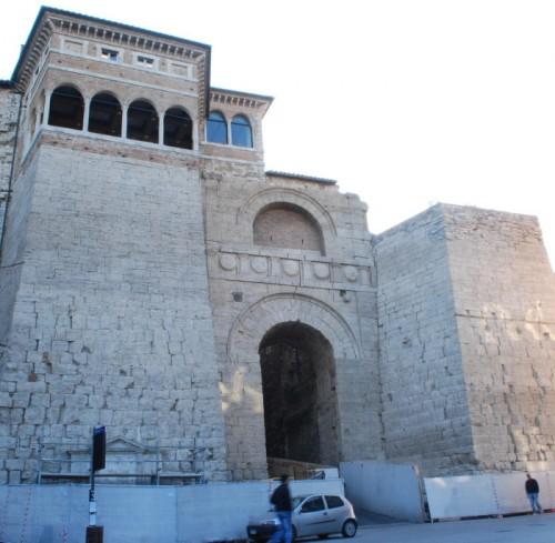 Restored Etruscan Arch in Perugia
