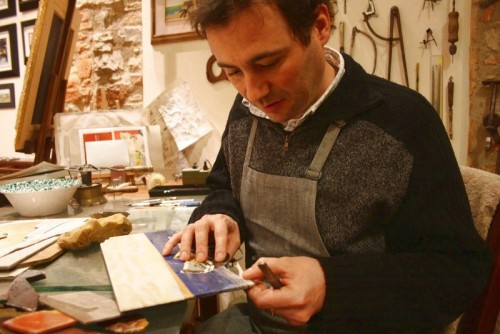 Leonardo Scarpelli - Mastercraftsman of the new generation (photo antiquariatoearte.com)