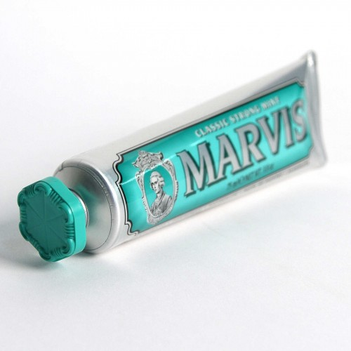 The favorite Marvis toothpaste in Classic Strong Mint