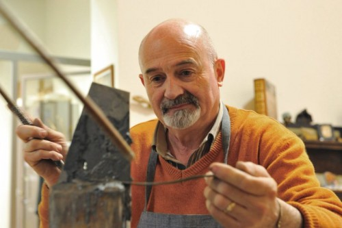 Renzo Scarpelli - Master Craftsman (photo antiquariatoearte.com)