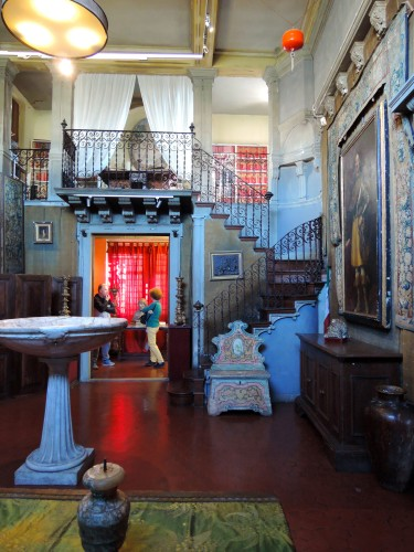 One of the fourteen rooms of the Bellini Museum