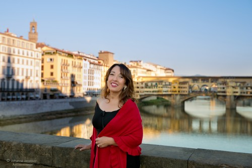 Susan Van Allen in Florence