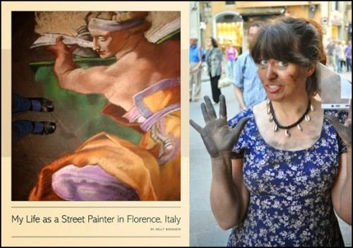 Kelly Borsheim and her book about the life of Florentine street artists