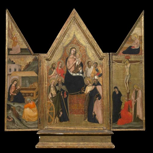 Fra Angelico Madonna in the Bellini Museum (photo bellinimuseum.org)