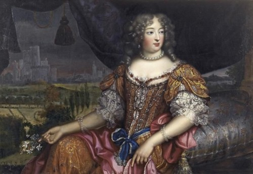 The Woman at the Center of 'affaire des poisons'. (Mme de Montespan, by Pierre Mignard, c 1670)