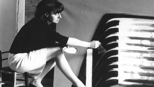 Titina Maselli, age 42 in 1966, donated her artwork to Florence