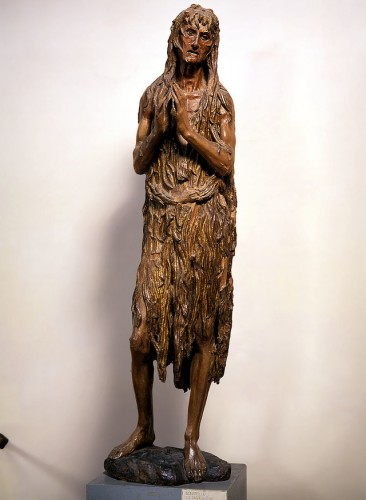 Donatello's Penitent Saint Mary Magdalene