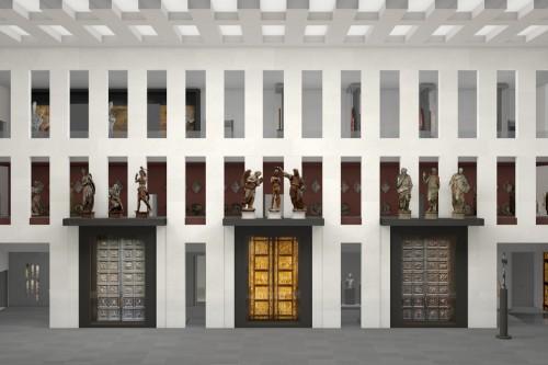 Reconfigured Doors of Paradise