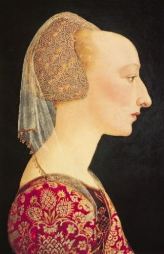 Portrait of a Lady in Red, 1460-70 Italian School (National Gallery)