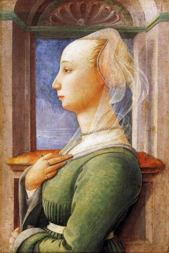Portrait of a Woman by Filippo Lippi