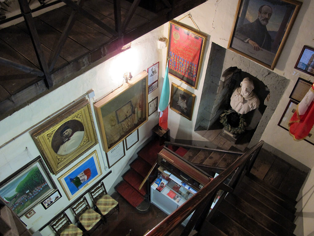 Inside the Giuseppe Garibaldi Museum