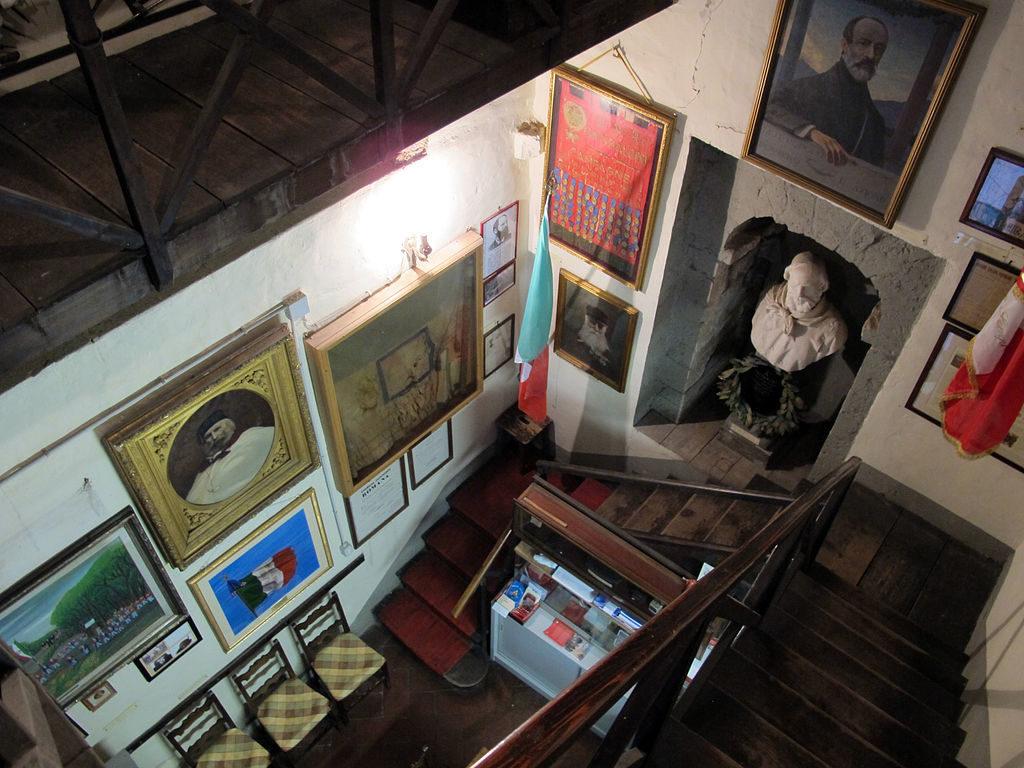 Inside the Giuseppe Garibaldi Museum