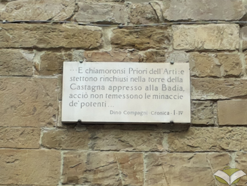 The Priors were enclosed in the tower said Dino Campagni (photo credit turismoletterario.com