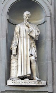 Statue in the courtyard of the Uffizi