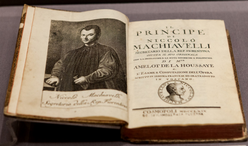 an introduction to the life and history of niccolo machiavelli Political philosopher, author born in florence, italy, in 1494, the same year the  ruling medici dynasty was toppled from power, he entered the florentine.